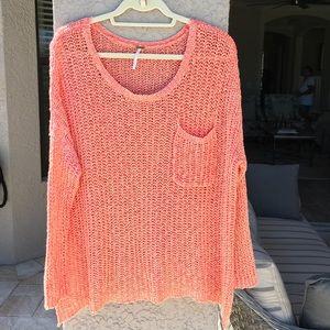 Free people sweater, size XS